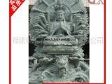 石雕千手观音 惠安石雕观音厂家 千手观音石雕坐像站像图片