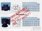 CB/T4009-2005J类法兰铸铁0.5MPa止回阀
