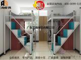 广东艾尚家具AS-09宿舍上下铺铁床给你意想不到的安全感