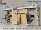广东艾尚家具AS-010上下层铁床钢琴同款油漆绿色环保
