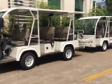 11座电动观光车敞开式,游客代步车