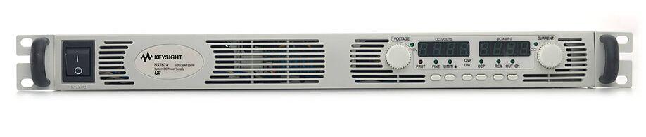 安捷伦/是德基础直流电源可为预算紧张的客户提供基本功能。Keysight N5767A 1500W 单路输出电源为您提供了以下特性:通用的交流输入;GPIB、LAN、USB 接口;符合 LXI C 类标准以及对输出电压和电流的模拟/电阻控制。它仅有 1U 高,却可以提供强大和稳定的性能,以及各种基本功能和增强功能。