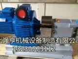 不锈钢蝴蝶型转子泵用于各种涂料的输送耐高压不易磨损无泄漏