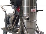 沥青路面保洁汽油驱动威德尔工业吸尘器汽油机QY75J操作简单