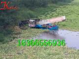 水草收割清理船 清理水草设备 水葫芦打捞船价格