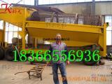 滚筒筛沙选金机 拖轮式淘金车 可移动的淘金设备