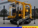 打井机价格低 XYD-130橡胶履带水井钻机厂家直销