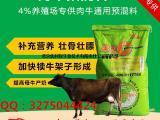 肉牛吃什么长的快,肉牛快速安全的营养饲料