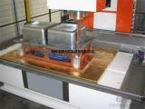 厂家直销 全自动不锈钢水槽洗手盆滚焊机