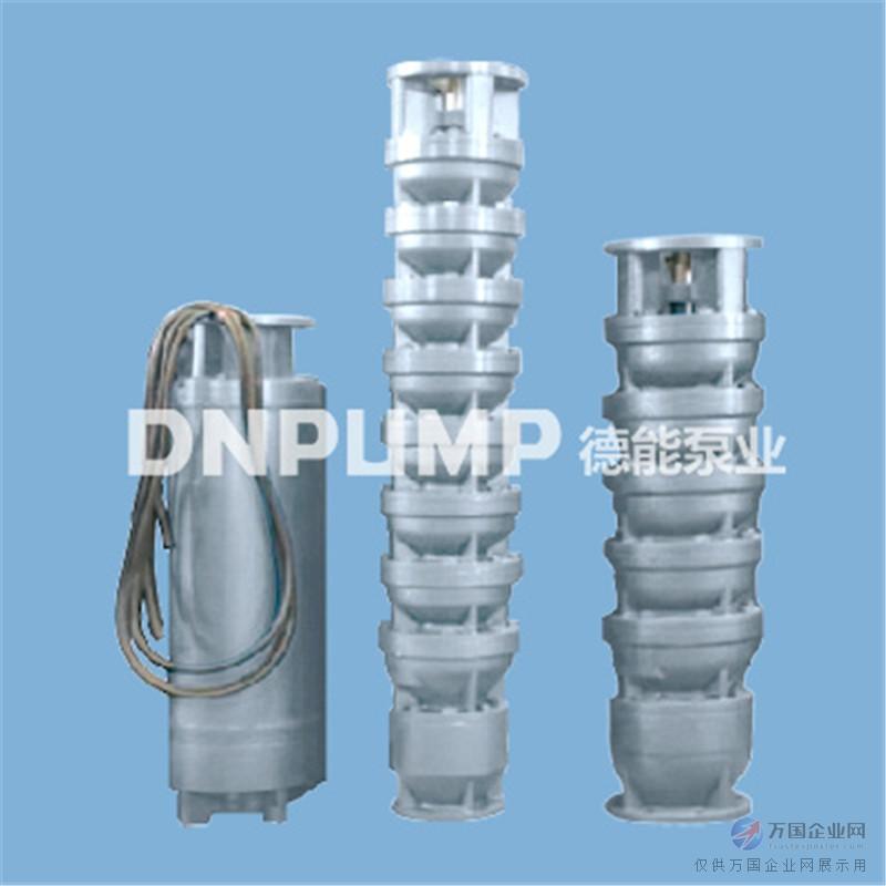 QJR系列热水潜水泵,设计用来抽送高温液体,由YQS型潜水电机和QJ型潜水泵直联组成。泵的零部件均由HT200材质精密制造,采用混流式或离心式单吸多级泵体结构,带内置单向阀和吸入滤网;叶轮由统一的键固定在泵轴上,并配备泵轴保护轴套。潜水电机采用水润滑轴承,上端配备甩砂器和骨架油封,防止泥砂进入电机。