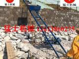 猛士 建筑爬山虎 机械爬山虎上料机 边坡防护 框架填空