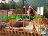 猛士 桥梁摩擦桩 人工挖孔挖桩用小吊机 中交四局乐百高速定制