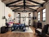 武汉复式楼装修效果图、复式别墅装修、首艺为你提供多种风格