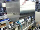 鑫沃发现货提供卧式搅拌灌装机%牛肉酱灌装机¥鲜虾酱灌装机价格