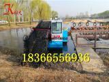 水草切割打捞船 有效清理水草设备 水上割草船