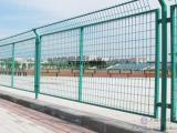 优质隔离栅栏厂家¥直销绿色防护栅栏¥供应浸塑长方孔护栏网