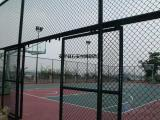 草绿色球场围护栏网¥墨绿色篮球场隔离护栏¥绿色浸塑足球场栏栅