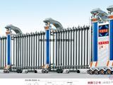 电动伸缩门直销铝材门,高档大气