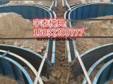 铁路拱形护坡模具生产车间