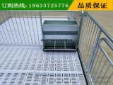养猪设备小猪保育床复合保育栏 不锈钢食槽——亨特