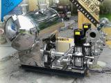 江西自来水二次加压无负压不锈钢恒压变频供水泵组设备