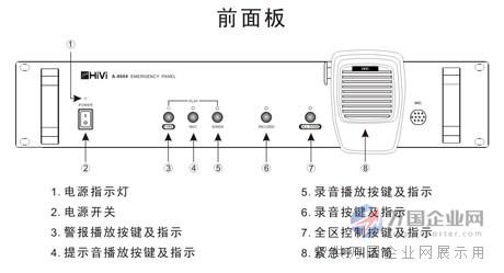 专业消防警功放设备厂家 消防功放机