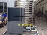 10吨美的空气能热水器一体式免安装