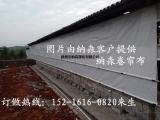 透光养殖场用挂帘卷帘-耐老化猪场卷帘布图片