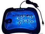 尼嘉供应电视PS3安卓ps4电脑街机游戏摇杆带震动led按键