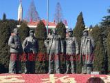 铸铜厂直供西柏坡抗日纪念雕塑毛主席抗战雕塑