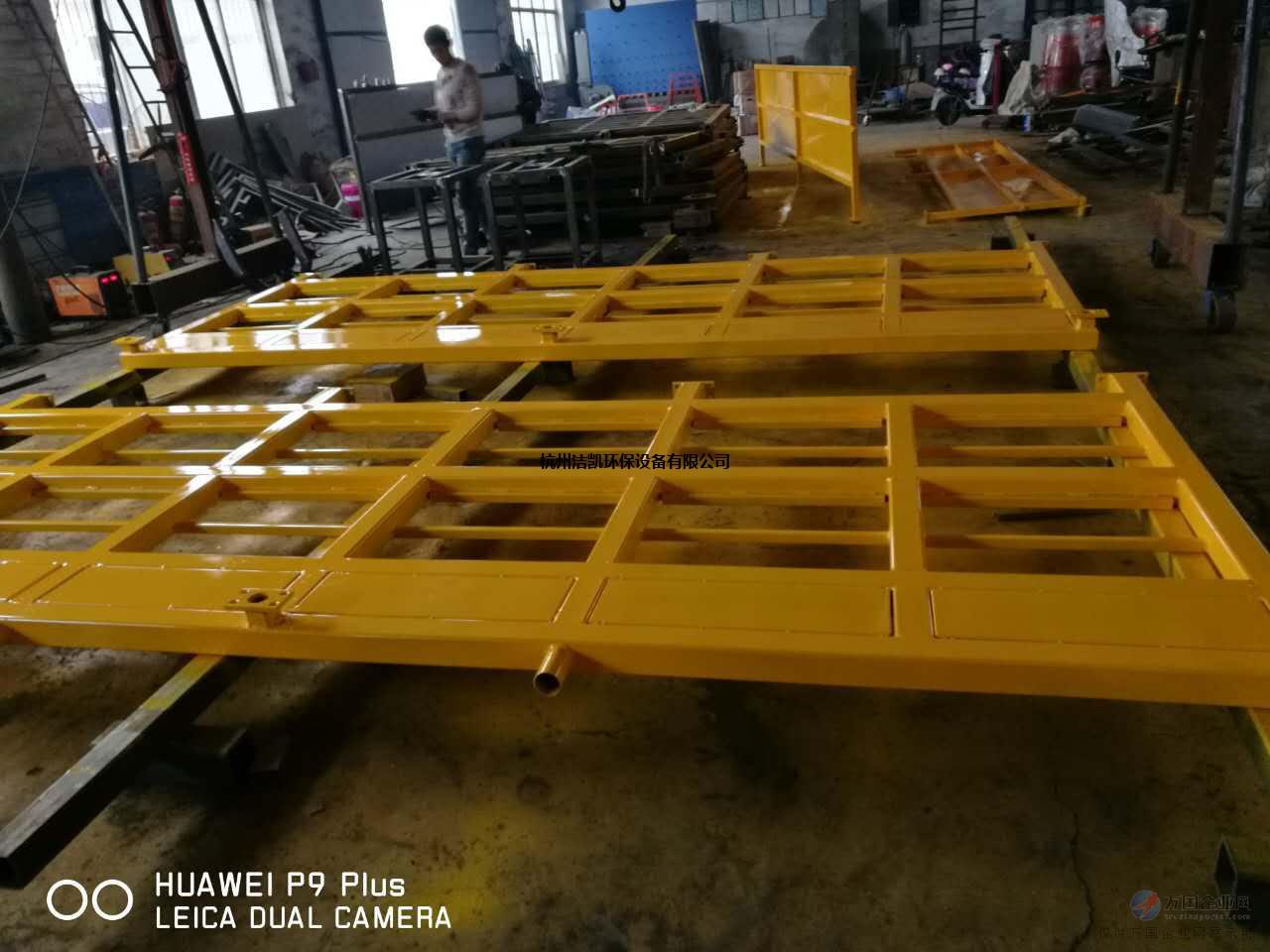 杭州建筑工地JK-200平板加长型洗轮机
