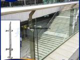 现代简约不锈钢楼梯扶手护栏配件复式阳台室内家用玻璃栏杆立柱