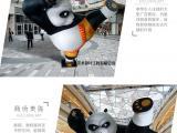 国家保护动物大熊猫雕塑摆饰报价
