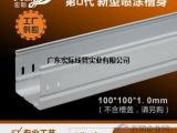广东宏际:镀锌线槽报价
