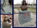 雷锋人物雕塑玻璃钢仿铜雕塑佳木斯雕塑