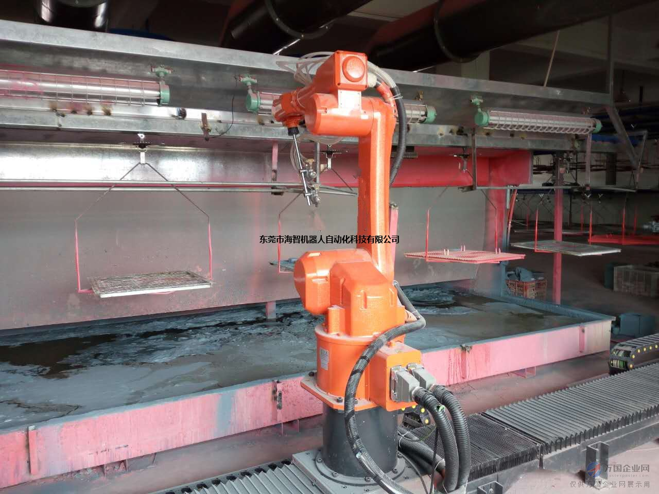 喷涂机器人手,涂装机械手自动化设备,工业机械臂喷漆