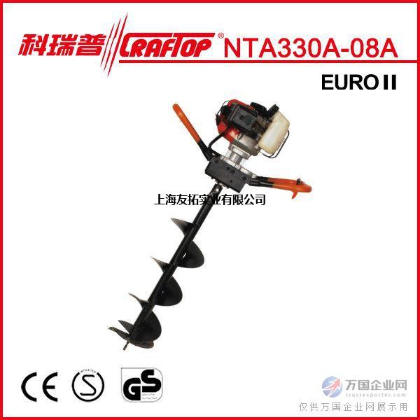 科瑞普NTA330A地钻32cc挖坑机植树机植树挖坑机打坑机