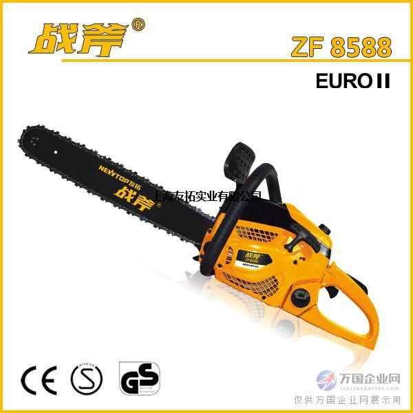 战斧58汽油伐木锯zf8588镁合金汽油锯专业油锯品牌大功率
