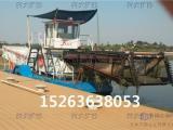 公园水草清理机械、全液压水面自动清洁船