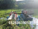 多功能水葫芦收割机械、全自动水上清漂船
