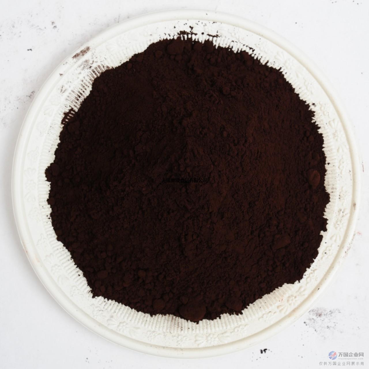 黑可可粉巧克力烘焙食品原料25公斤/袋