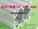 80120 铝合金型材自动化设备流水线支架铝框架展示架子价格