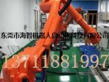 电器喷涂机器人,喷漆机械手厂家,东莞虎门海智喷涂机器人