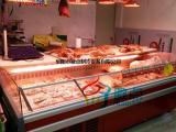 定做超市冷鲜肉保鲜柜 敞开式鲜肉冷藏展示柜