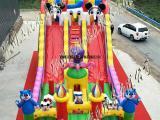 厂家直供章鱼大滑梯充气蹦床 充气滑梯 儿童乐园 充气堡