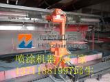 机器人喷漆设备,工业机器人喷漆工作站,喷涂机械手集成方案