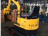 路邦机械1吨橡胶履带液压农用小型挖掘机