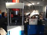 150T四柱二梁液压机,可用于压印、成型、拆卸、校直、拉伸等