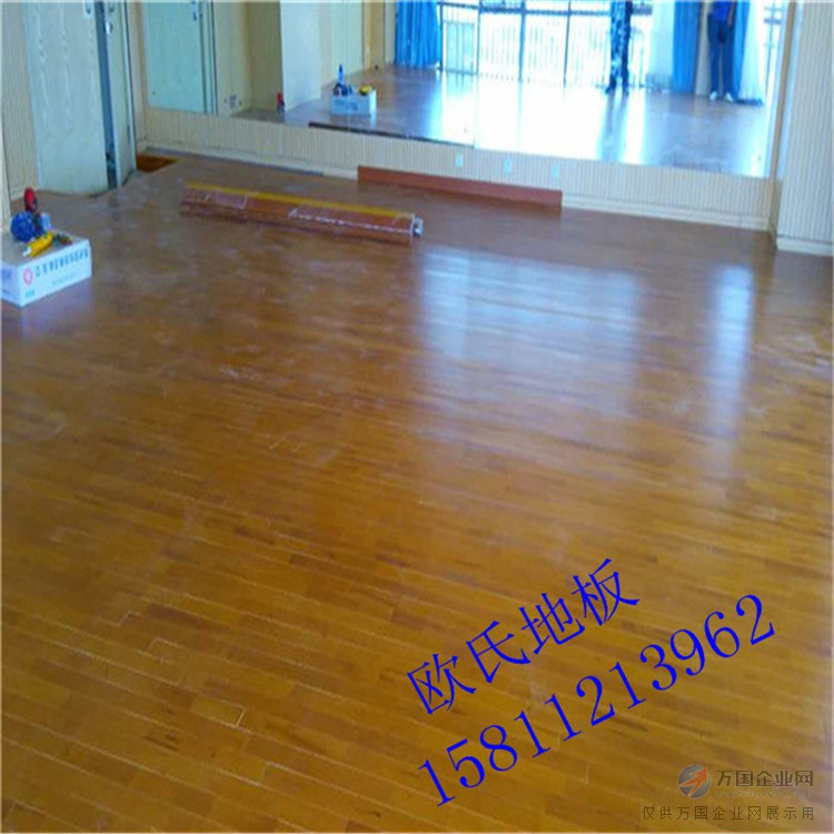 威海体育场木地板施工 室内篮球地板价格 室内运动馆