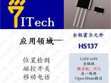 超低功耗(3uA)高灵敏度全极霍尔HS137
